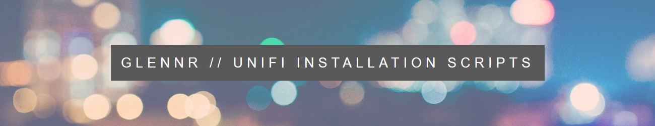 UniFi Installation Scripts | UniFi Easy Update Scripts | Ubuntu